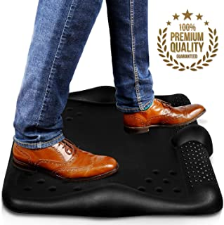 Anti Fatigue Standing Desk Mat - Huge Padded Ergonomic Antifatigue Comfort Mats - Thick Cushioned Stand Up Office Kitchen Floor Pad - 26