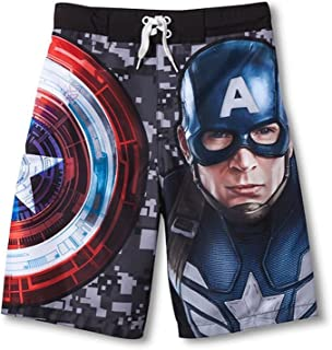 Marvel Captain America The Winter Soldier Big Boys ' Swim Trunks