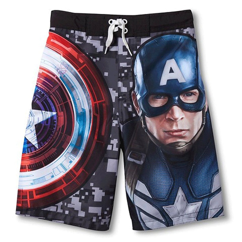 Marvel Captain America The Winter Soldier Big Boys ' Swim Trunks
