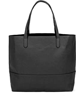 Overbrooke Large Vegan Leather Tote - Womens Slouchy Shoulder Bag with Open  Top 4c7d296e36ced