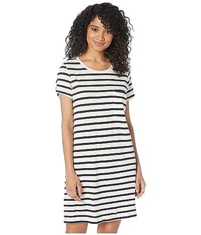 LAmade Phil Pocket Dress (Navy/Natural Stripe) Women