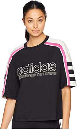 758564e91dd3 Black. 11. adidas Originals. Racing AA-43 Cropped Tee
