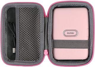 co2crea Hard Travel Case for Fujifilm Instax Mini Link Smartphone Printer (Pink Case)