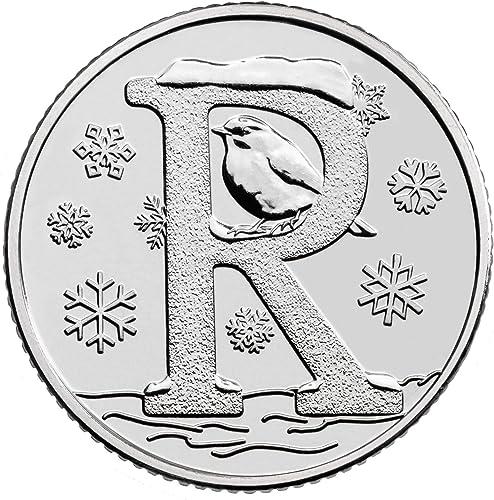 mejor moda 2018 AZ Alfabeto de diez peniques 10p Elija Elija Elija su letra Este listado no está circulado Fuera de circulación (R-Robin)  tienda de venta