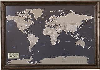 Best world map wooden plaque Reviews