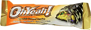 ISS Research Ohyeah! Bars, Chocolate Caramel Candies, 3 Ounce
