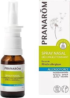 Pranarôm |Allergoforce|Spray Nasal Décongestionnant|DM| Aux Huiles Essentielles Biologiques|15 ml