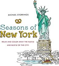 Seasons of New York: Relax and Color Away the Hustle and Bustle of the City
