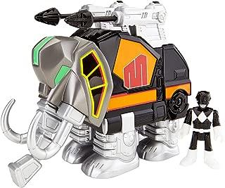 Fisher-Price Imaginext Power Rangers Black Ranger and Mastodon