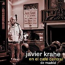 Javier Krahe en el Café Central de Madrid
