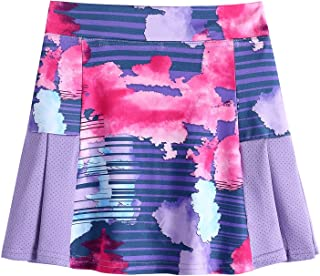 Arshiner Girl's Sport Skirts with Shorts Athletic Pleated Skort Colorful Performance Skorts