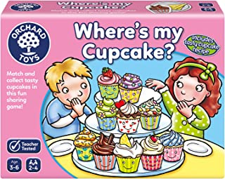 ORCHARD TOYS Where's My Cupcake? Board Game
