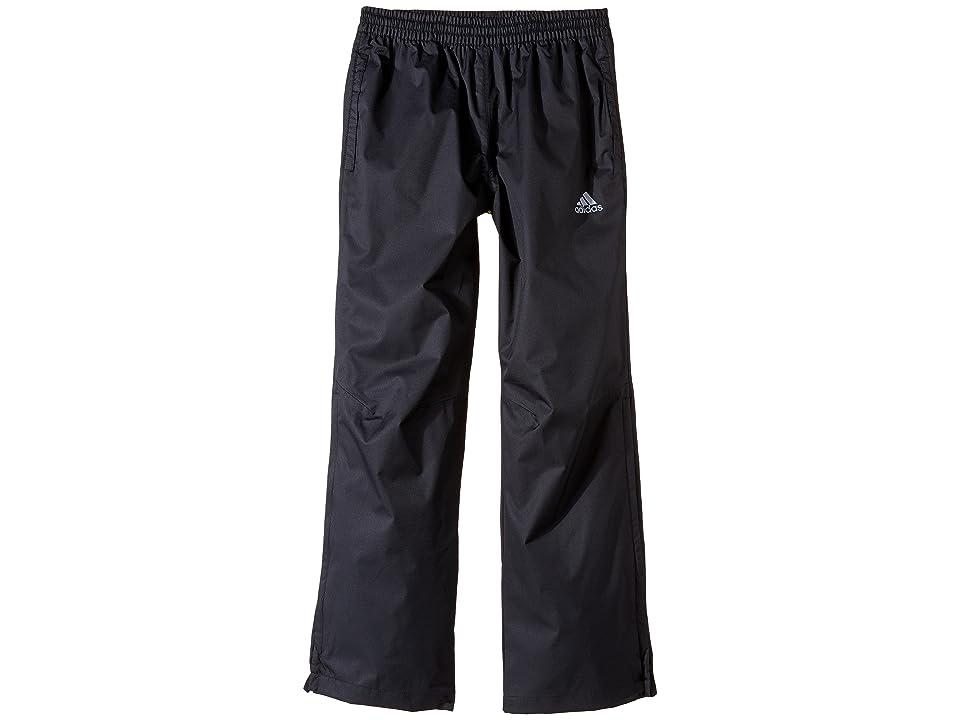 Image of adidas Golf Kids Provisional Rain Pants (Big Kids) (Black) Boy's Casual Pants