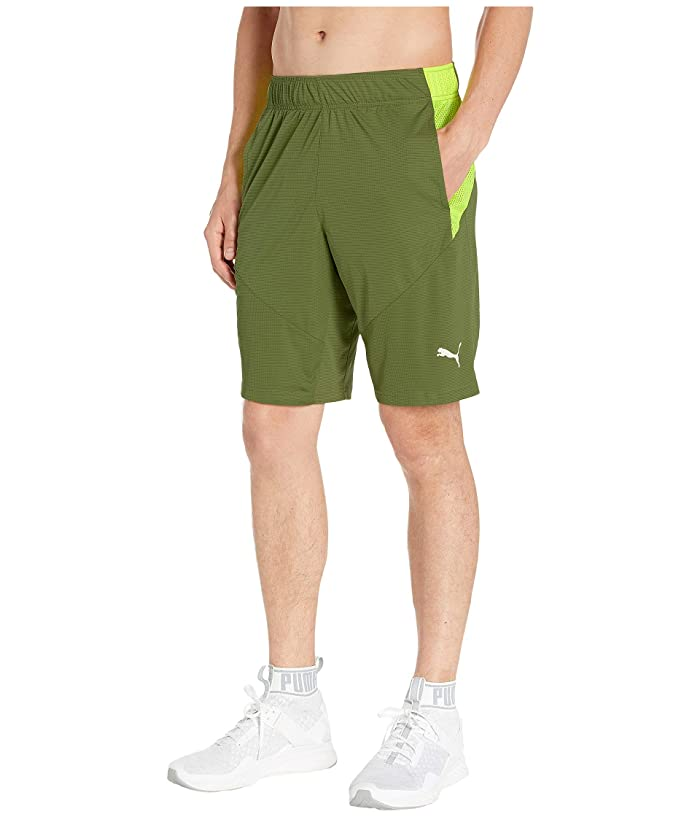 PUMA Energy Knit 10 Shorts (Olivine/Fizzy Yellow) Men