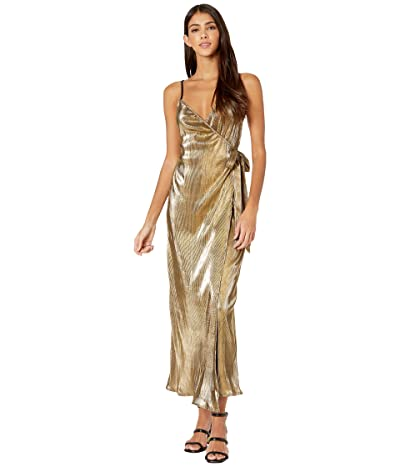 Show Me Your Mumu Jane Jumpsuit (Pleated Gold) Women