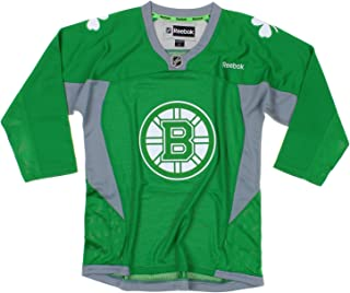 NHL Boston Bruins Youth Boys St. Patrick's Day Green Replica Jersey