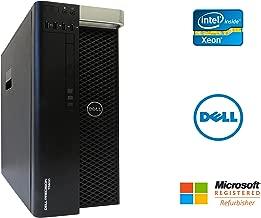 Dell Precision T5600 Desktop Workstation Intel Xeon 16 Core 2.9GHz 128GB RAM 500GB SSD + 6TB HD NVIDIA Quadro 6000 6GB Graphics Windows 10 Pro 64-bit (Renewed)