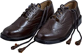 brown kilt brogues