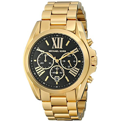 e9492d962 Amazon.com: Michael Kors Women's Bradshaw Gold-Tone Watch MK5739: Michael  Kors: Watches