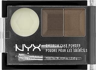 NYX Eyebrow Cake Powder, Brunette, 0.09 oz