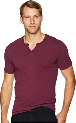 Topanga Short Sleeve Notch V-Neck Tee