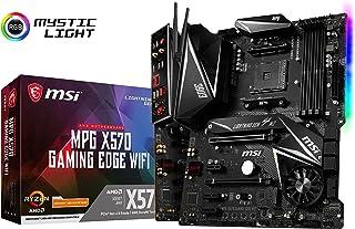 MSI MPG X570 Gaming Edge WiFi Motherboard ATX, AM4, DDR4, LAN and 802.11AC WiFi, USB 3.2 Gen2, Type-C, M.2, RGB Mystic Lig...