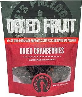 Steve's PaleoGoods, Dried Fruit Cranberries, 6 oz