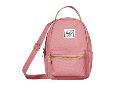 Herschel Supply Co. Nova Crossbody (Heather Rose) Handbags