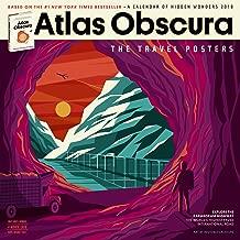 Atlas Obscura Wall Calendar 2018