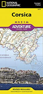 Corsica: Travel Maps International Adventure Map