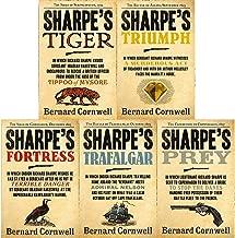 Bernard Cornwell's Richard Sharpe's Series 1 to 5 Books Set (Prey, Trafalgar, Fortress, Triumph, Tiger)
