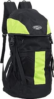 "POLE STAR ""TREK 44 Lt Black & Green Rucksack I Hiking backpack"