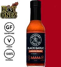 Bravado Spice Black Garlic Carolina Reaper | Hot Ones Hot Sauce | Gluten Free | Vegan | All Natural
