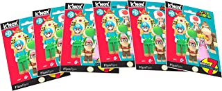K'NEX Super Mario Brothers Mystery Figure Bags, Series 8 - 6 Pack Toy Figure