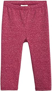 First Impressions Baby Girls Metallic Leggings,Dark Red,18 M