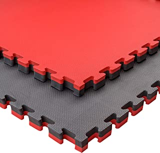 Pack Esterilla Goma Espuma Estructura Tatami Puzzle Ideal Artes Marciales, Judo, Suelo Tatami Japonés | Grosor: 4cm