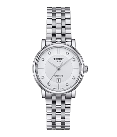 Tissot T-Classic Carson Premium Automatic Lady T1222071103600 (Silver) Watches