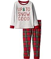Up to Snow Good Tartan Long Sleeve Two-Piece Pajamas (Infant/Toddler)