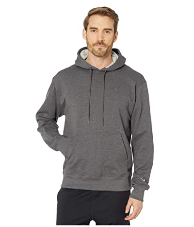 Champion Powerblend(r) Fleece Hoodie (Granite Heather) Men