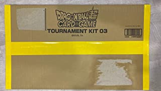 Dragon Ball Z Super Official Tournament KIT vol. Three Factory Sealed 26 Packs