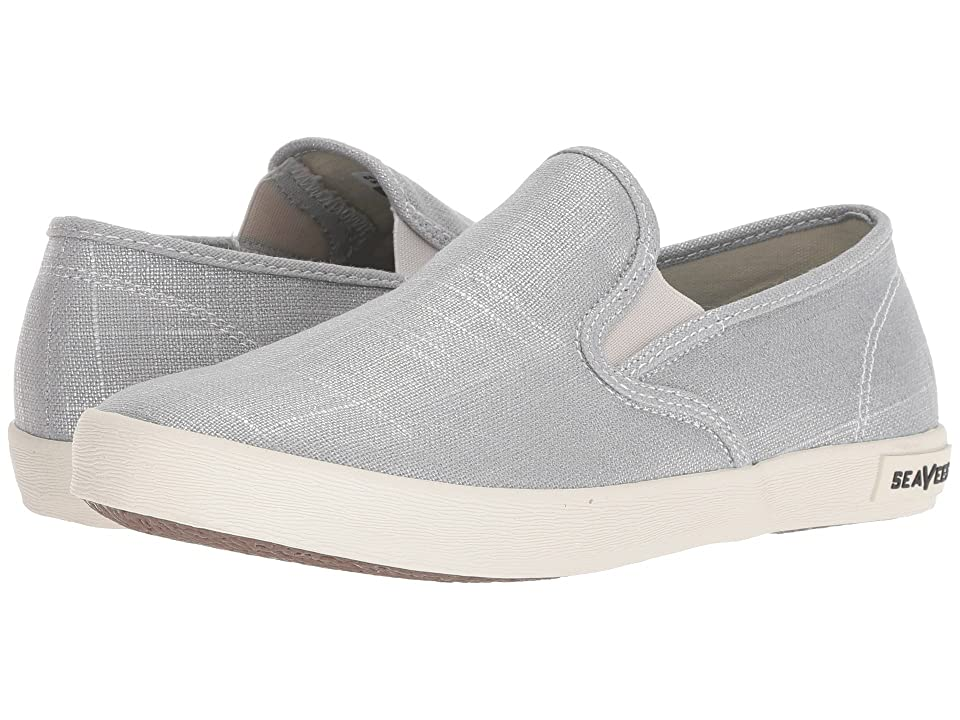 SeaVees Baja Slip-On Metallic (Silver) Women