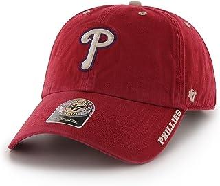 MLB Philadelphia Phillies Ice Adjustable Hat, One Size, Red