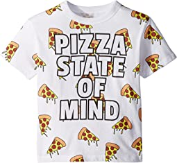 Vintage Jersey Pizza State Tee (Toddler/Little Kids)