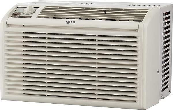 LG 5 000 BTU Manual Controls Window Air Conditioner White