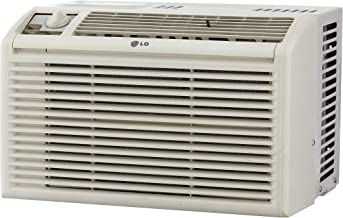 LG 5,000 BTU Manual Controls Window Air Conditioner White