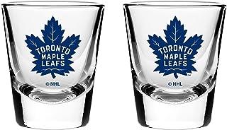 NHL Toronto Maple Leafs Shot Glass, 2-Pack