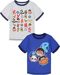Ryans World 2 Pack T Shirts Kids