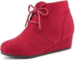 Toddler/Little Kid/Big Kid Girl's Low Wedge Heel Booties Shoes