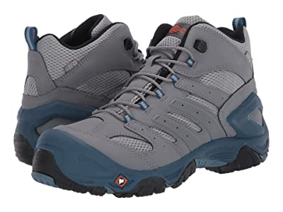 Merrell Work Strongfield Mid Waterproof Composite Toe (Grey) Men