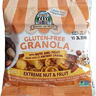 Bakery on Main Gluten Free Granola Snack Pack, Extreme Nut & Fruit, 50 Count
